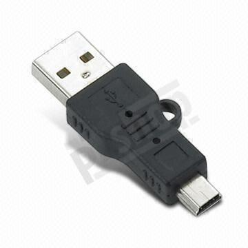 USB male - miniUSB male