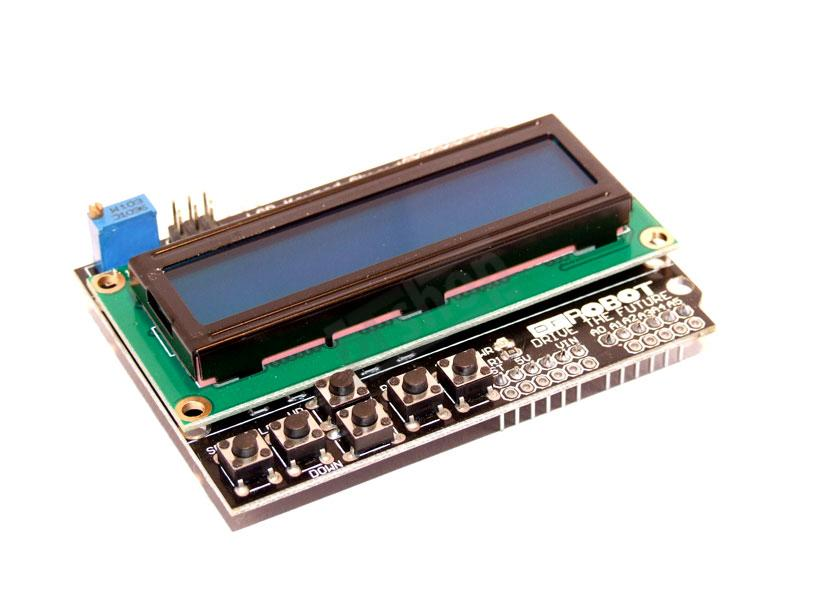 Keypad LCD Shield DFRobot