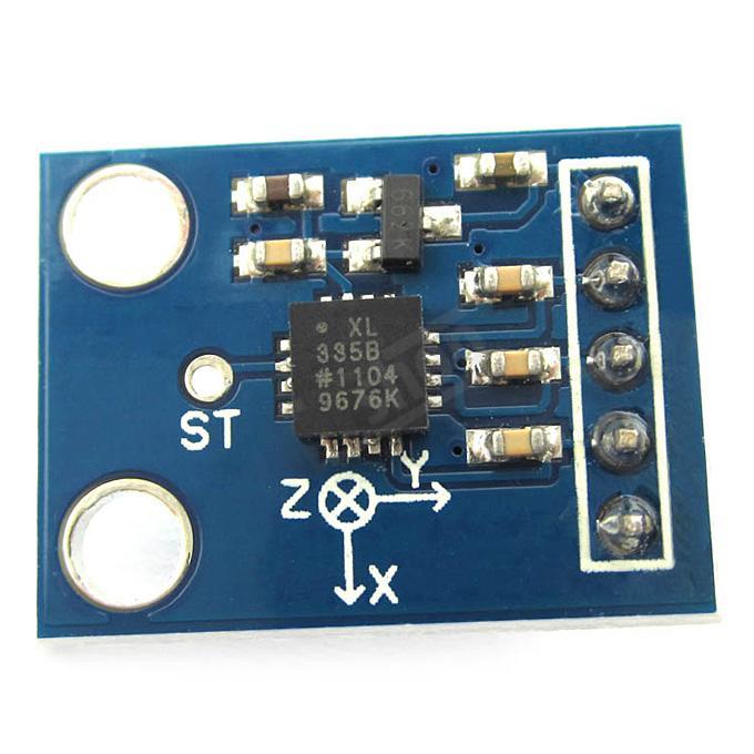 GY-61 - Analog acceleration sensor module using