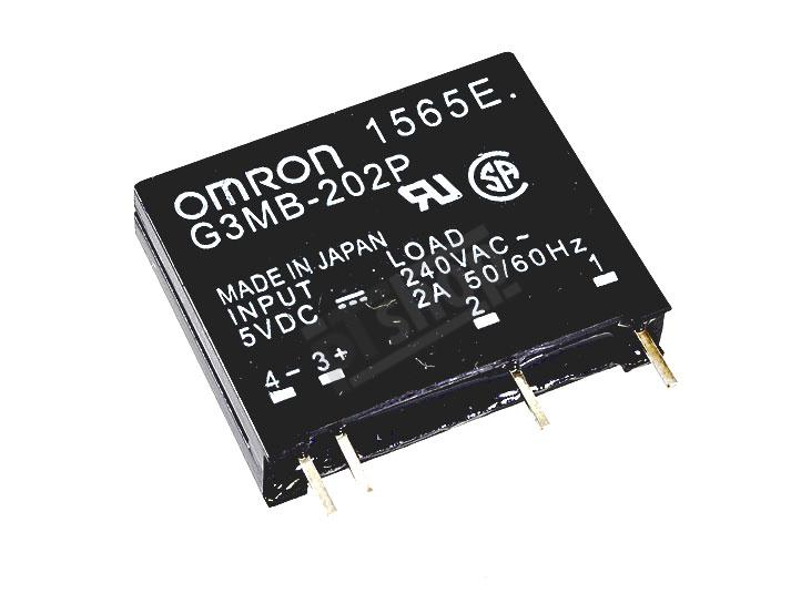 Omron Solid State Relay 5V 240VAC 2A