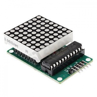 Matrix LED modul 8x8